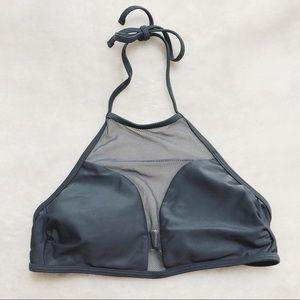 High neck mesh bikini top (XS)